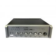 Amplificator de Linie WVNGR X-1040, 40W-100V, Stație Amplificare Audio, USB, SD Card, Radio, Intrare Microfon
