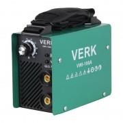 Aparat de Sudură tip Invertor Verk VWI-100A, 3.8 KVA, 100 A, Electrod 1.0-2.5 mm, IP21S, Accesorii