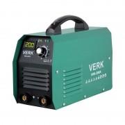 Aparat de Sudură tip Invertor Verk VWI-200A, 8.8 KVA, 200 A, Electrod 1.0-5.0 mm, IP21S, Accesorii