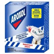 Aparat anti Țânțari Aroxol, Vaporizator Electric + Rezervă Lichid 35 ml, 45 Nopți, Fără Miros