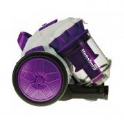 Aspirator fără sac Hausberg, 700 W, 3 Litri, Sistem Ciclonic, Filtru HEPA, Diverse Culori