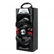 Boxă cu Bluetooth HL-BT3002, 10 W, Radio FM, MP3 Player / Card SD şi USB, 35 cm, Baterie Reîncărcabilă, Diverse Culori