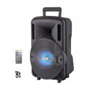 Boxă Portabilă Activă cu Telecomandă AiLiang LIGE-X1, 10W RMS, Bluetooth, MP3 Player, Radio, Acumulator