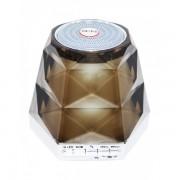 Boxă Portabilă Bluetooth Diamond cu Lumini Wster, Radio şi Microfon, 3 W, USB, Baterie Reîncărcabilă, LED, Diverse Culori