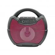 Boxă Portabilă cu Bluetooth, MP3, Card TF / USB, Radio FM, Lumini LED, Mâner Transport, Diverse Culori