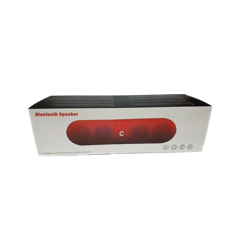 Boxă Portabilă Bluetooth Speaker cu Radio şi Microfon, USB, Baterie Reîncărcabilă, Diverse Culori