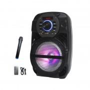 Boxă Portabilă Karaoke cu Microfon fără Fir AiLiang LIGE-A85K, 10W RMS, Bluetooth, Telecomandă, Acumulator