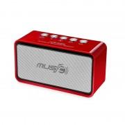 Boxă Portabilă MP3 şi Radio cu Bluetooth Wster, 3 W RMS, Radio FM, Card şi USB, Baterie Reîncărcabilă, Diverse Culori