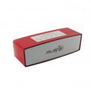 Boxă Portabilă MP3 şi Radio cu Bluetooth Wster, 6 W RMS, Radio FM, Card şi USB, Baterie Reîncărcabilă, Diverse Culori