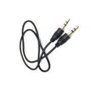 Cablu Audio Stereo Jack 3.5mm Tată - Tată MGZ, 0.5 metri, Negru