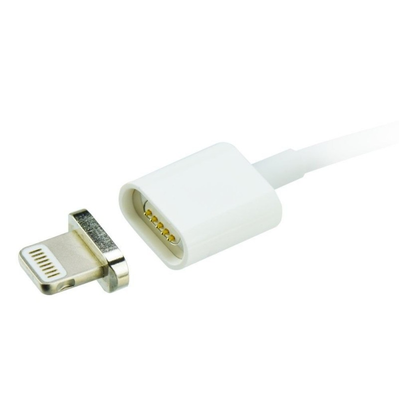 Cablu Magnetic de Date sau Încărcare USB pentru iPhone Zelmond, Lightning, 5/5S/5SE/6/6S/6 Plus, 100 cm