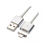 Cablu Magnetic de Date sau Încărcare USB pentru Telefon Zelmond, MicroUSB, 100 cm