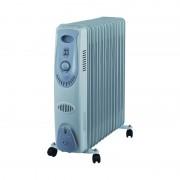 Calorifer Electric cu 9 Elemenţi Victronic, 2000 W, 3 Nivele Încălzire, Termostat reglabil, Protecţie supraîncălzire