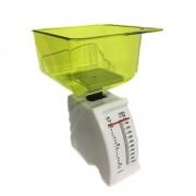 Cântar de Bucătărie mecanic cu Bol Victronic, 1 Kg, Plastic, Diverse Culori