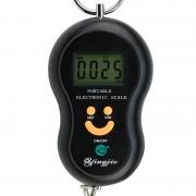 Cântar de mână Digital cu Cârlig PES, 40 Kg, Ecran LCD, Bucătărie, Bagaje, Funcţie Tara, Diverse Culori