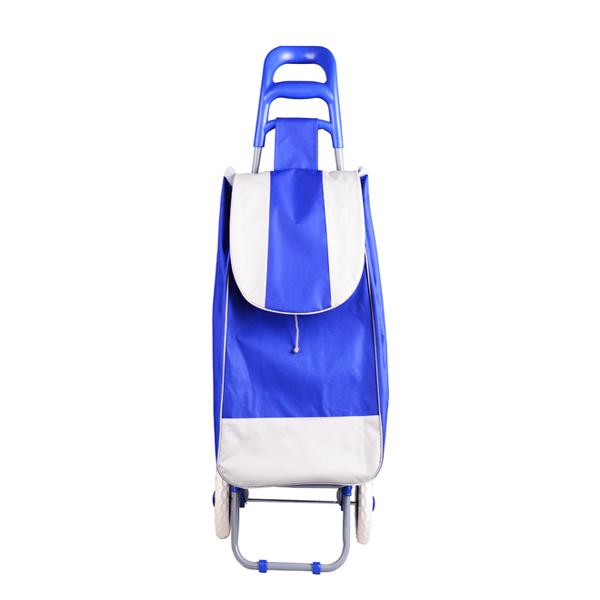 Cărucior pentru Cumpărături DeKassa, 2 Roţi, Diverse Culori