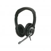 Căşti cu Microfon pentru PC cu fir Serioux, Stereo, Jack 3.5 mm, Negru