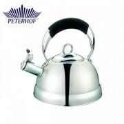 Ceainic cu fluier Peterhof, 2.7 Litri, Inox, Inducţie