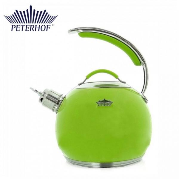 Ceainic cu fluier Peterhof, 3 Litri, Inox, Inducţie, Diverse Culori