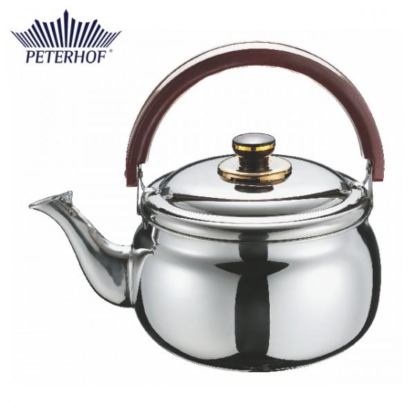 Ceainic cu fluier Peterhof, 3 Litri, Inox, Inducţie