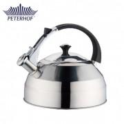 Ceainic din Inox cu Fluier Peterhof, 3 Litri, Inducţie
