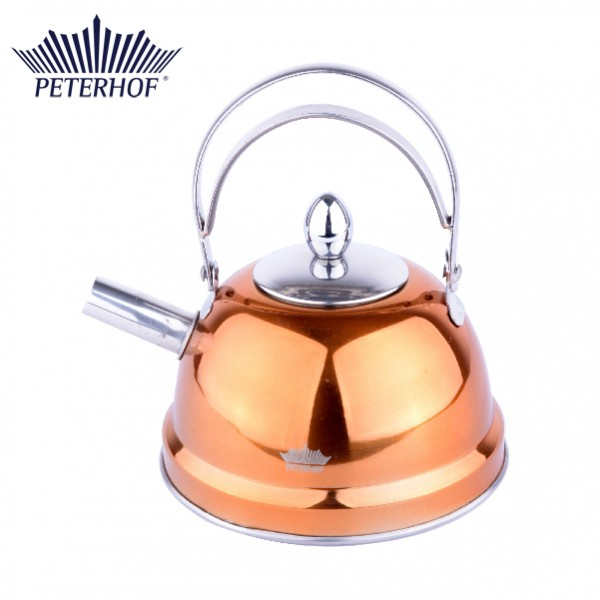 Ceainic Peterhof, 0.7 Litri, Inox, Fund 3 Straturi, Diverse Culori