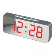Ceas Digital cu Alarmă VST 763Y, Display LED Oglindă, Alimentare 220 V, Diverse Culori