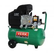Compresor de Aer Electric Verk VAC-2024, 1500 W, 2.0 CP, 8 Bar, Debit 200 Litri/min, Rezervor 24 Litri