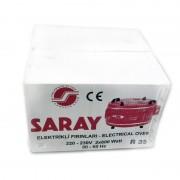 Cuptor Electric Rotund Turcesc Saray Grunberg, 2 x 600 W, 35 Litri