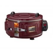 Cuptor Electric Rotund Turcesc XL Zilan, 1400 W, 40 Litri, 250 Grade Celsius, Vișiniu