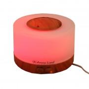 Difuzor de Aromă cu Ultrasunete Oslo Aroma Land, Lumină LED, Alimentare USB 5V, Formă Rotundă