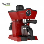 Espressor Cafea Manual Classy Victronic, 3.5 Bar, 800 W, 250 ml, Roșu