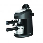 Espressor Cafea Manual Zilan, 800 W, 2-4 Cești, Sistem Spumare și Cappuccino, Negru