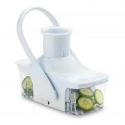 Feliator pentru Legume și Fructe automat SoM Slice, Plastic, Adaptor, Alb