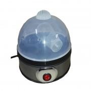 Fierbător Electric pentru Ouă Hausberg, 350 W, Capacitate 7 Ouă, Cronometru, Inox și Plastic