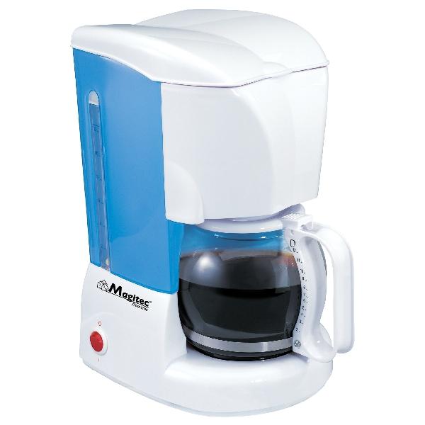 Filtru de Cafea Electric Magitec DeKassa, 10-12 ceşti, 1.2 Litri, 800 W, Alb