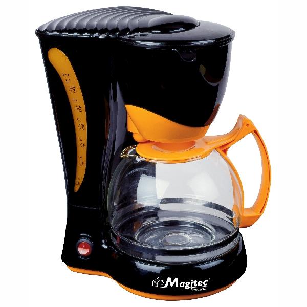Filtru de Cafea Electric Magitec DeKassa, 12 ceşti, 1.2 Litri, 650 W, Negru