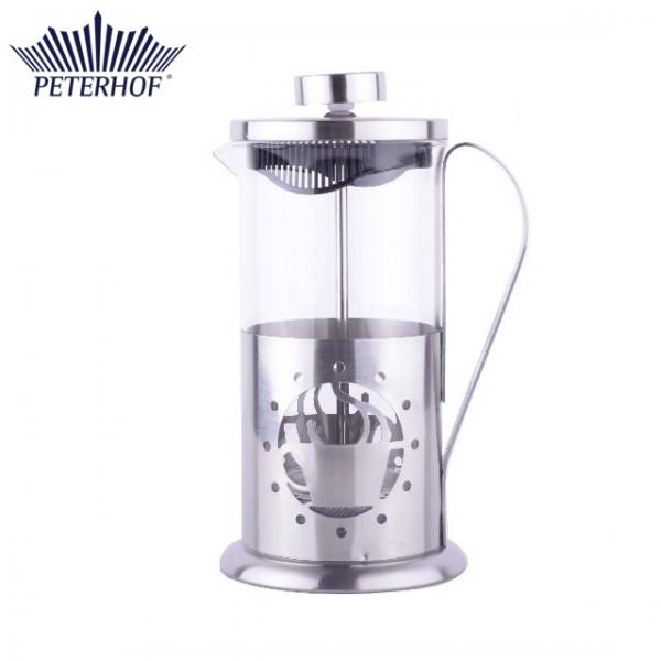 Filtru manual pentru Cafea şi Ceai Peterhof, 350 ml, Sticlă şi Inox