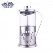 Filtru manual pentru Cafea şi Ceai Peterhof, 600 ml, Sticlă şi Inox