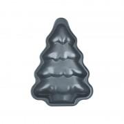 Formă pentru Copt Model Brad din Oţel Carbon Tree Peterhof, 27 cm, Tăvă Teflon, Modele Crăciun