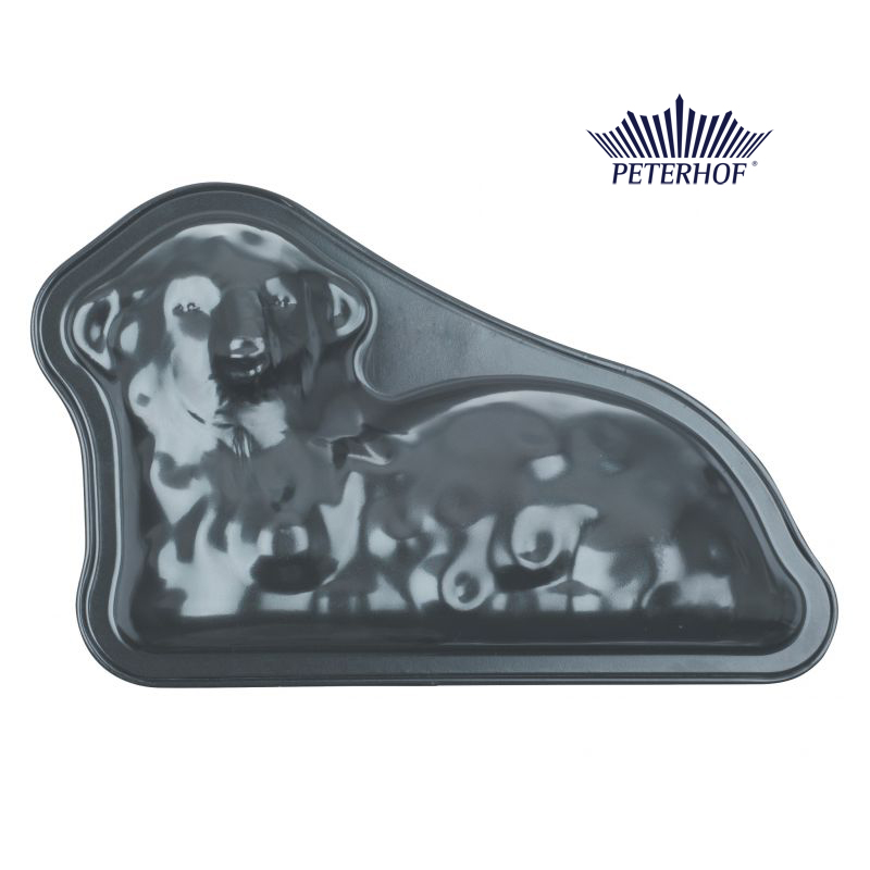 Formă pentru Copt Model Miel din Oţel Carbon Peterhof, Tăvă Teflon, Modele Animale