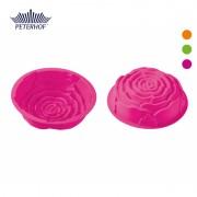 Formă pentru Prăjitură din Silicon Peterhof, Trandafir, Diverse Culori
