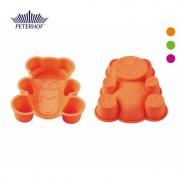 Formă pentru Prăjitură din Silicon Peterhof, Ursuleţ, Diverse Culori