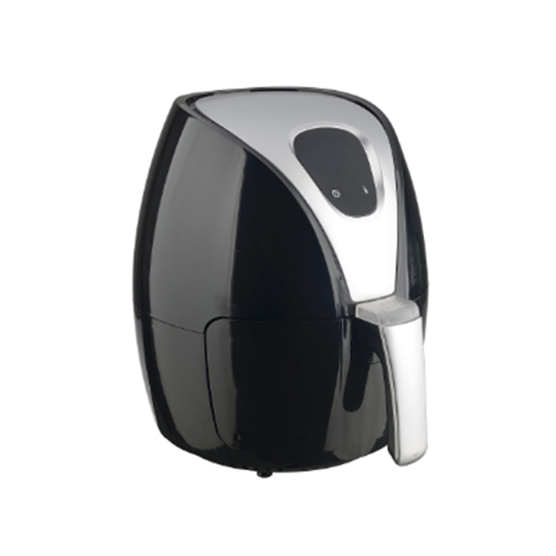 Friteuză cu Aer Fierbinte Airfryer Magic Digital Hausberg, 1500 W, 2.6 Litri, Afişaj LCD, Termostat, Temporizator, Negru