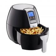 Friteuza Air Fryer Digital Zilan, 1500 W, 3.5 Litri, Aer Cald, Afişaj LCD, Termostat, Negru