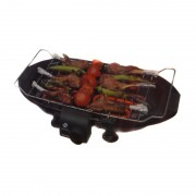 Grătar Electric cu Grill Barbeque Saray Grunberg, 2000 W, 3 Nivele, Email
