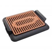 Grătar Electric cu Grill Ceramic Neo Hausberg, 1250 W, 31x26 cm, Termostat reglabil, Aluminiu