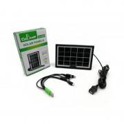 Încărcător cu Panou Solar CCLAMP, 6V / 3.5W / 0.58A, Mufă USB, 25.4 x 14 cm, Cablu Telefoane, IP65