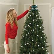 Instalaţie pentru Brad de Crăciun cu Telecomandă MGZ, 48 Becuri LED, 16 Culori, 3 Moduri de Operare