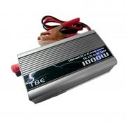 Invertor de Tensiune Auto TBE-1000, 1000W, DC12V la AC220V, Ventilator